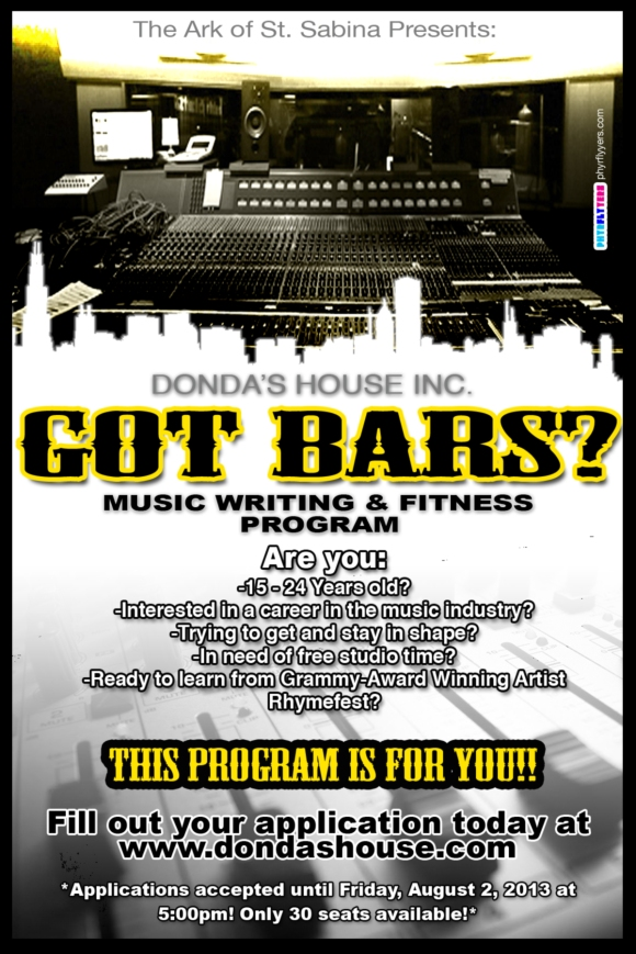 Got Bars Flyer